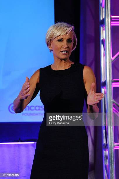 MSNBC's Morning Joe host Mika Brzezinski speaks at 2011 WICT Leadership Conference and Touchstones Luncheon at New York Hilton and Towers on October...