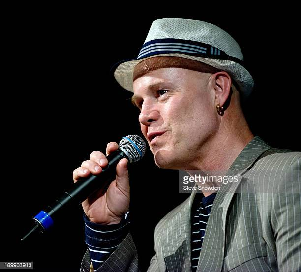 80's musician Thomas Dolby performs at Albuquerque's historic LOBO Theater on the opening day of the Albuquerque Film Media Experience at Nob Hill on...