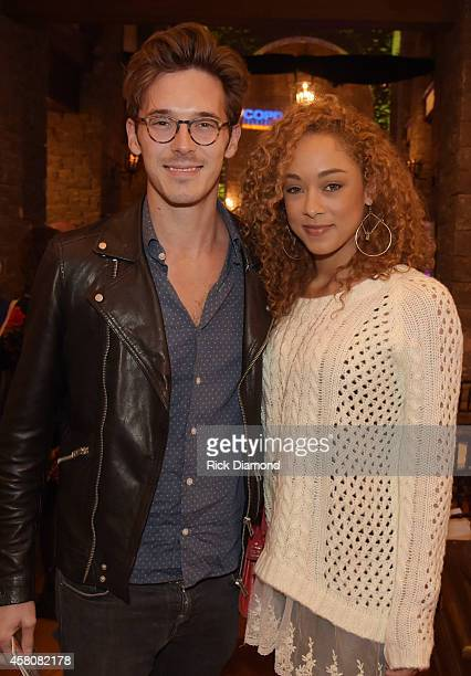 ABC's Nashville cast members L/R Sam Palladio and Chaley Rose attend A Tribute to Phil Everly to benifit COPD featuring Singer/Songwriter Paul Simon...