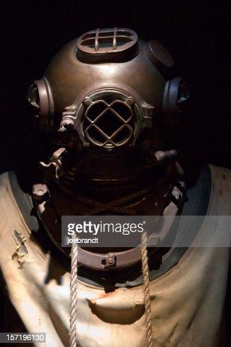 1920's Navy Diving Suit