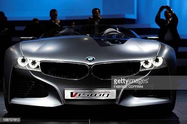 Bmw Vision Connected Drive Stock Photos And Pictures Getty Images