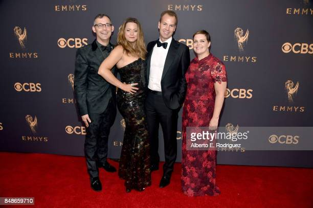 SVP's of Programming David Levine Francesca Orsi EVP of HBO Programming and head of comedy Casey Bloys and SVP of Programming Amy Gravity attend the...