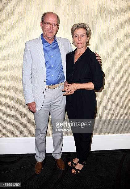 HBO's 'Olive Kitteridge' Actor Richard Jenkins and Executive Producer/Actress Frances McDormand during the HBO TCA Summer Session 2014 at The Beverly...