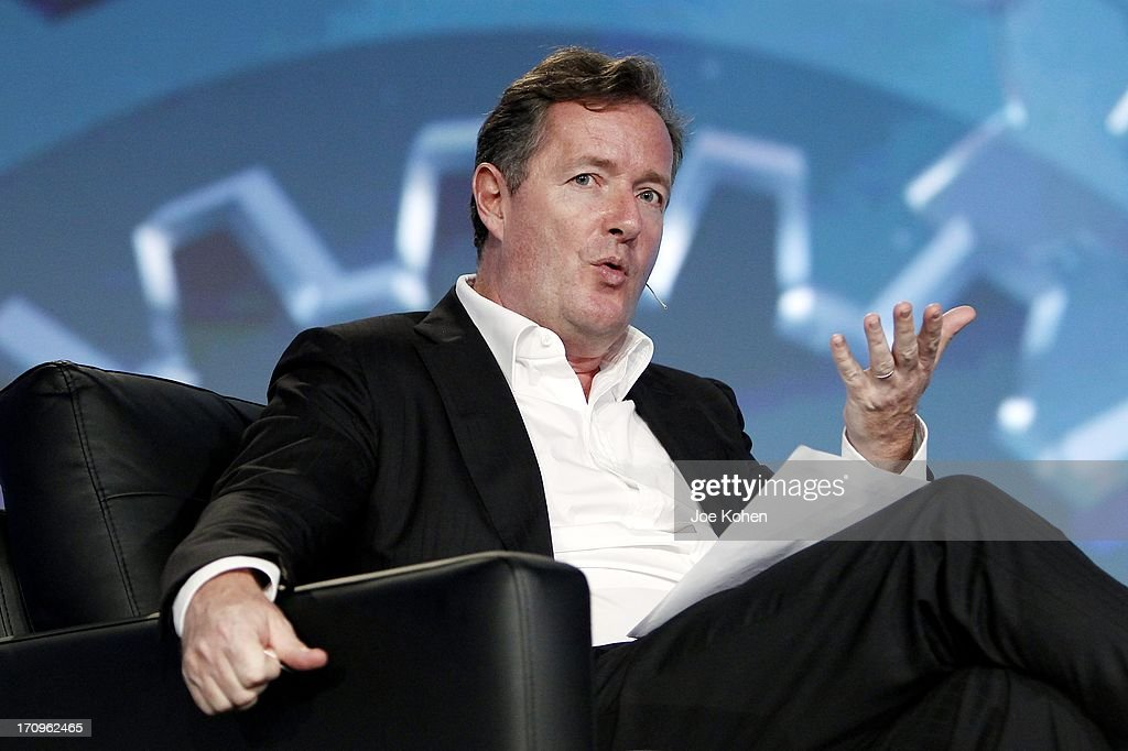 CNN's <a gi-track='captionPersonalityLinkClicked' href=/galleries/search?phrase=Piers+Morgan&family=editorial&specificpeople=216509 ng-click='$event.stopPropagation()'>Piers Morgan</a> speaks during PROMAXBDA 2013 at JW Marriott Los Angeles at L.A. LIVE on June 20, 2013 in Los Angeles, California.
