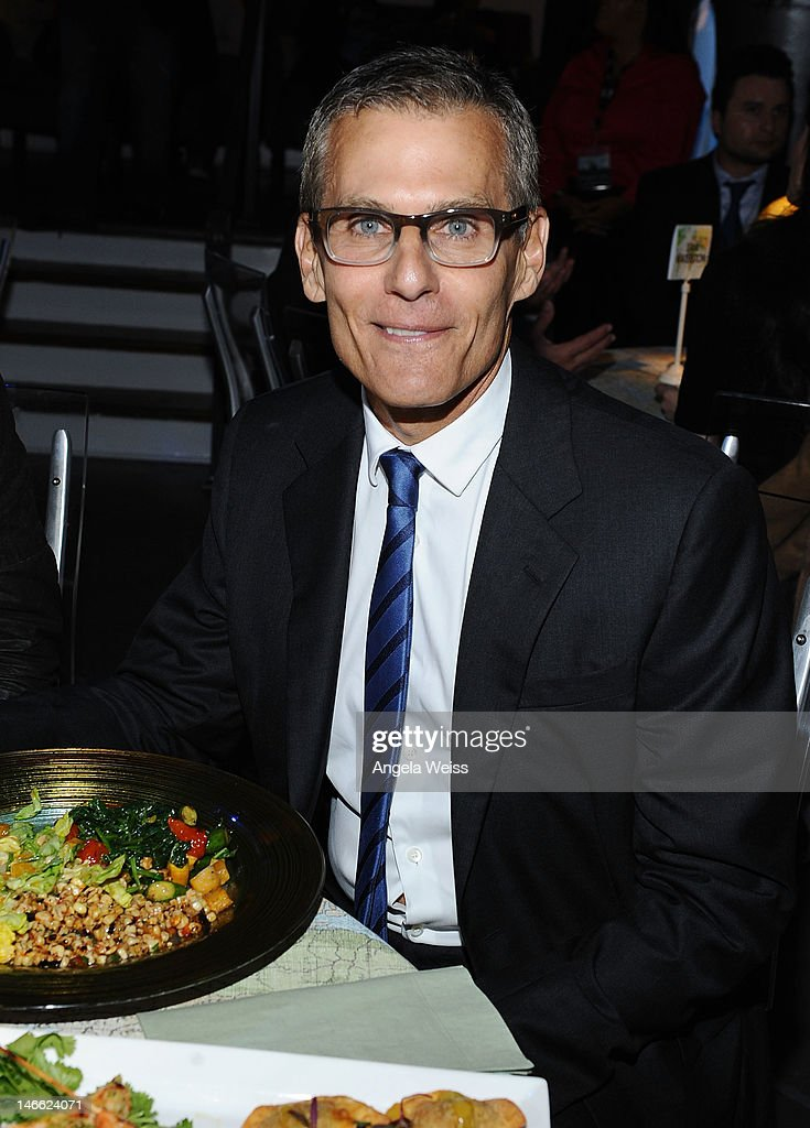 HBO's President of Programming Michael Lombardo attends the after party for HBO's New Series 'Newsroom' Los Angeles Premiere at Boulevard3 on June 20, 2012 in Hollywood, California.