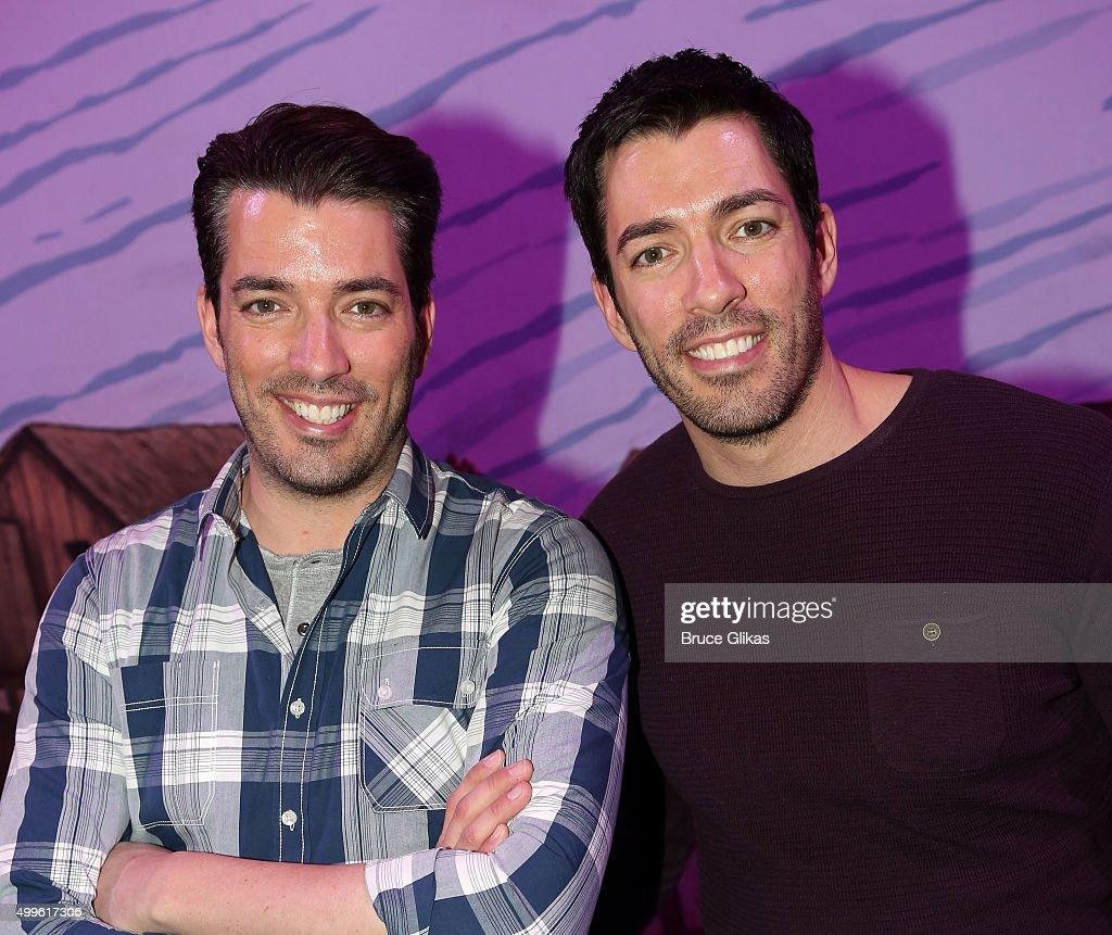 Celebrities visit broadway december 2 2015 getty images Drew jonathan property brothers