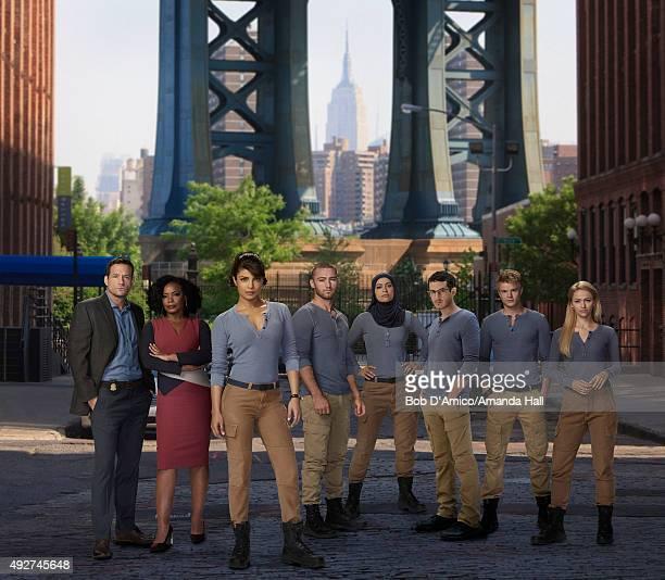 QUANTICO ABC's 'Quantico' stars Josh Hopkins as Liam O'Connor Aunjanue Ellis as Miranda Shaw Priyanka Chopra as Alex Parrish Jake McLaughlin as Ryan...