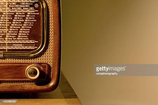 1950's radio set