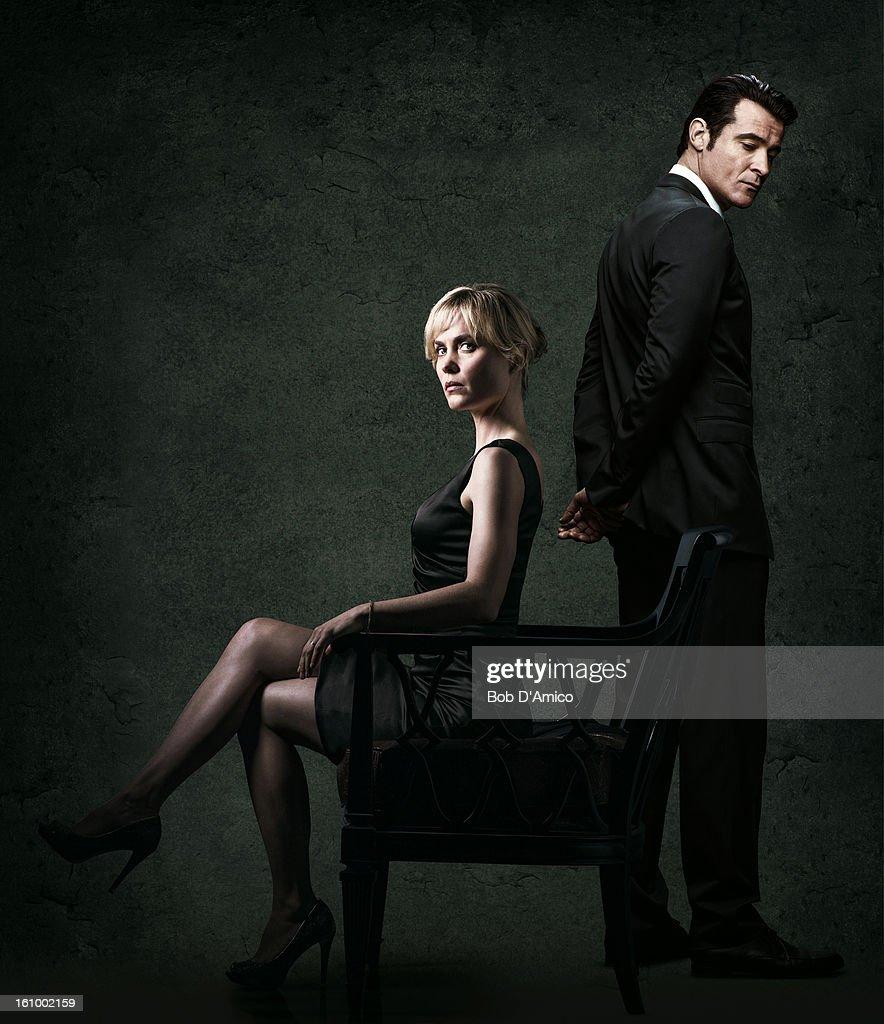 RED WIDOW - ABC's 'Red Widow' stars Radha Mitchell as Marta Walraven and Goran Visnjic as Nicholae Schiller.