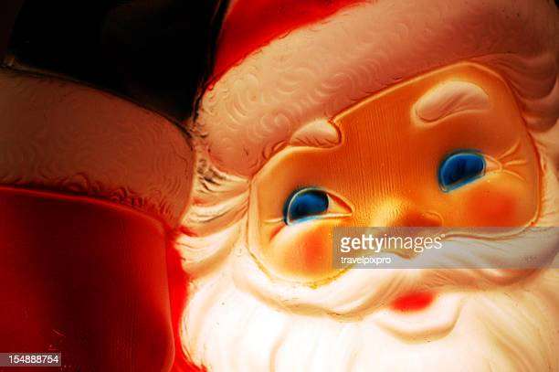 50's Retro Santa - Internally Lighted