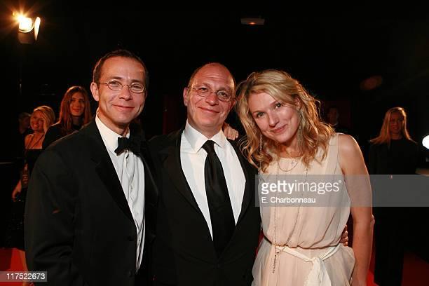 CAA's Richard Lovett Writer Akiva Goldsman and Rebecca Goldsman