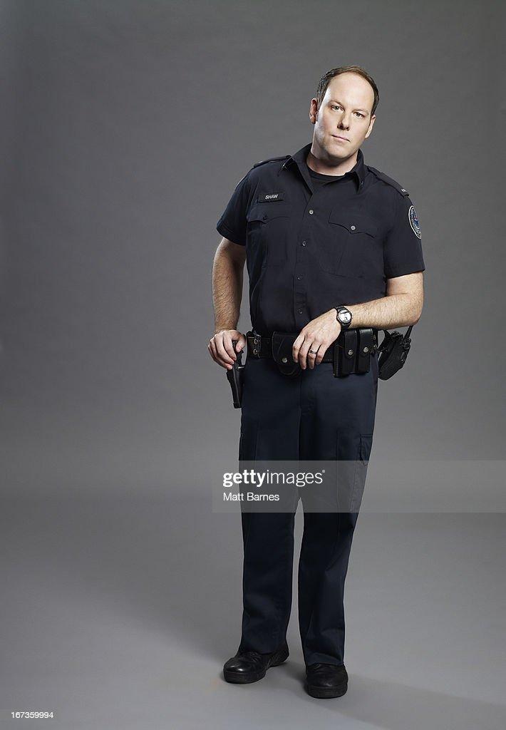 BLUE - ABC's 'Rookie Blue' stars Matt Gordon as Oliver Shaw.