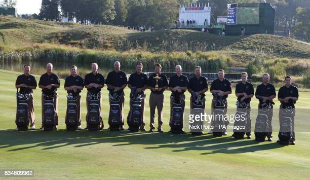 USA's Ryder Cup Team Anthony Kim Boo Weekley Justin Leonard Steve Stricker Stewart Cink Phil Mickelson Paul Azinger Jim Furyk Kenny Perry Chad...