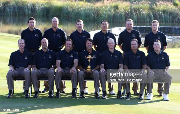USA's Ryder Cup Team Steve Stricker Stewart Cink Phil Mickelson Paul Azinger Jim Furyk Kenny Perry Chad Campbell Ben Curtis Boo Weekley Justin...