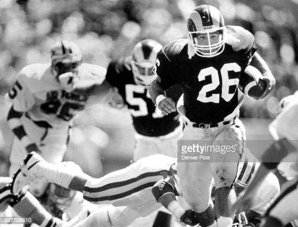 CSU's Scott Whitehouse just gets away from AFA's Terry Walker up the middle for a long which set up a TD on the next play AFA won the game 2923...