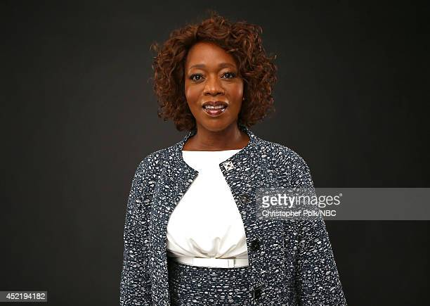 NBC's 'State of Affairs' actress Alfre Woodard poses for a portrait during the NBCUniversal Press Tour at the Beverly Hilton on July 13 2014 in...