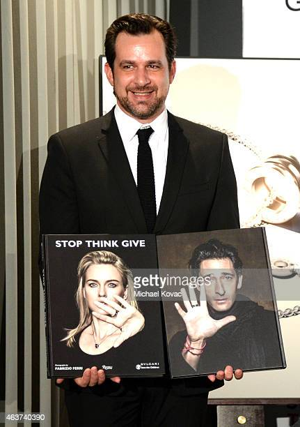 BVLGARI's Stephane Gerschel attends BVLGARI and Save The Children STOP THINK GIVE PreOscar Event at Spago on February 17 2015 in Beverly Hills...