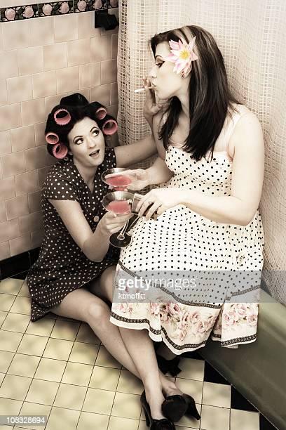 Soirée entre filles Style des Années 1950