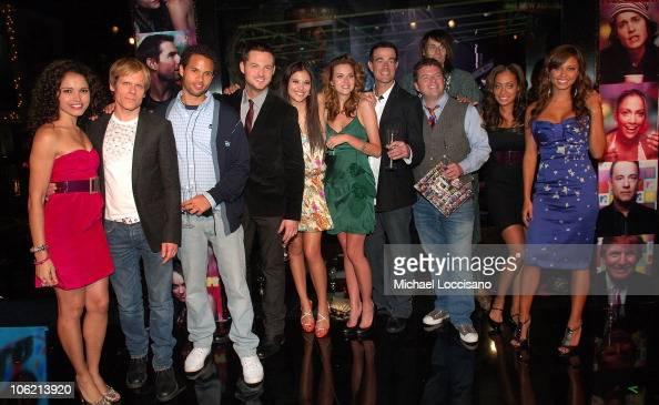 MTV VJ's Susie Castillo John Norris Quddus Damien Fahey Lyndsey Rodrigues Hilarie Burton Carson Daly Dave Holmes Jesse Camp La La Vazquez and Vanessa...