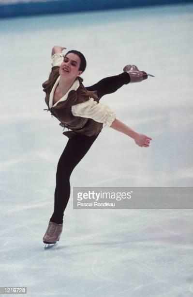 WOMEN's TECHNICAL PROGRAM AT THE 1994 LILLEHAMMER WINTER OLYMPICS Mandatory Credit Pascal Rondeau/ALLSPORT