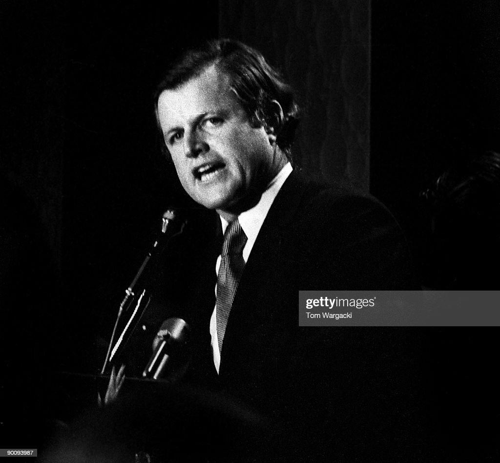 CITY - CIRCA 1970's: Ted Kennedy sighting circa 1970's in New York City.