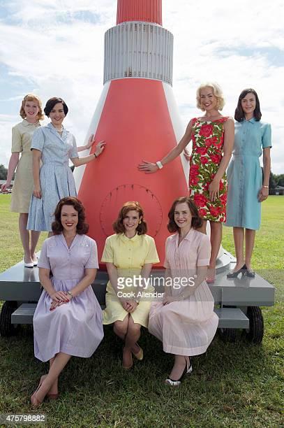 CLUB ABC's 'The Astronaut Wives Club' stars Zoe Boyle as Jo Schirra Azure Parsons as Annie Glenn Erin Cummings as Marge Slayton JoAnna Garcia Swisher...