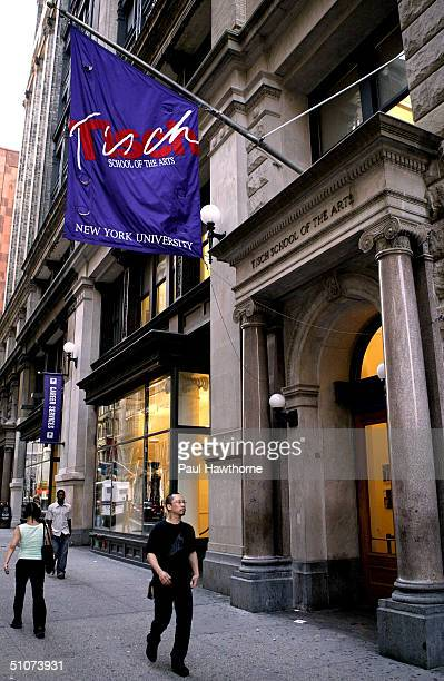 NYU's Tisch School of the Arts building on Broadway in Greenwich Village July 15 2004 in New York City