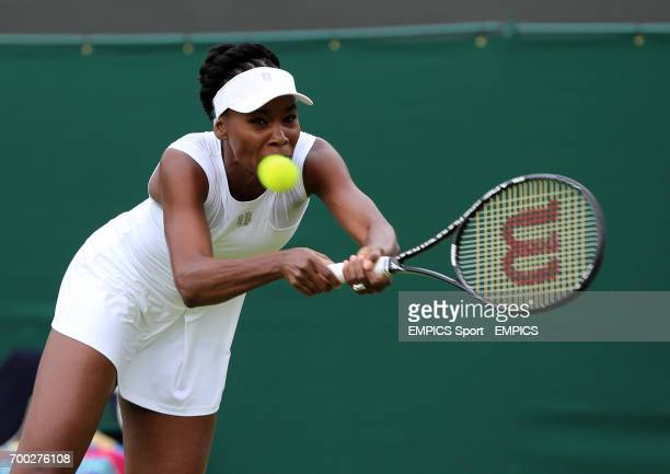 USA's Venus Williams in action against Spain's MariaTeresa TorroFlor