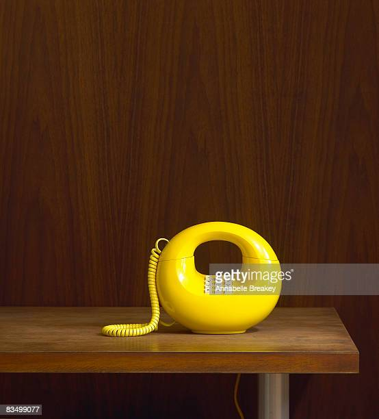 1970's Vintage phone on table