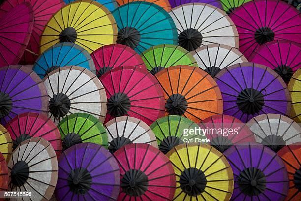 Sa paper umbrellas