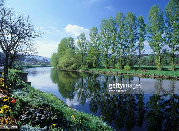 Saale River, Thuringia, Germany