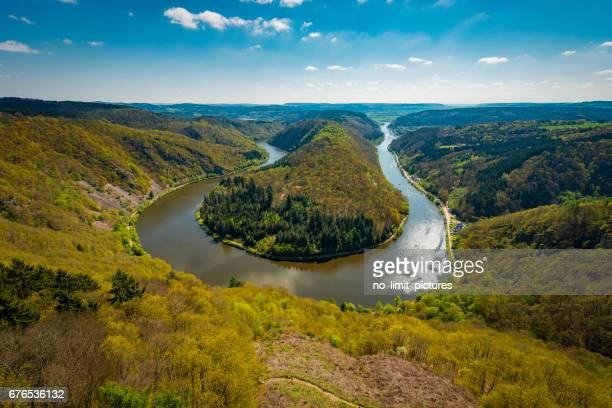 Saar River in Germany