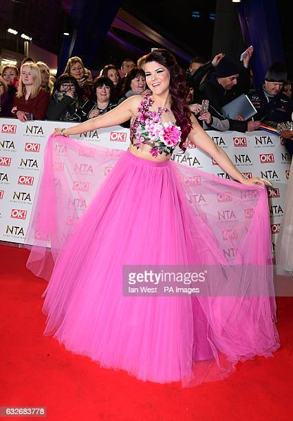 Saara Aalto arriving at the National Television Awards 2017 held at The O2 Arena London PRESS ASSOCIATION Photo Picture date 25th January 2017 See PA...