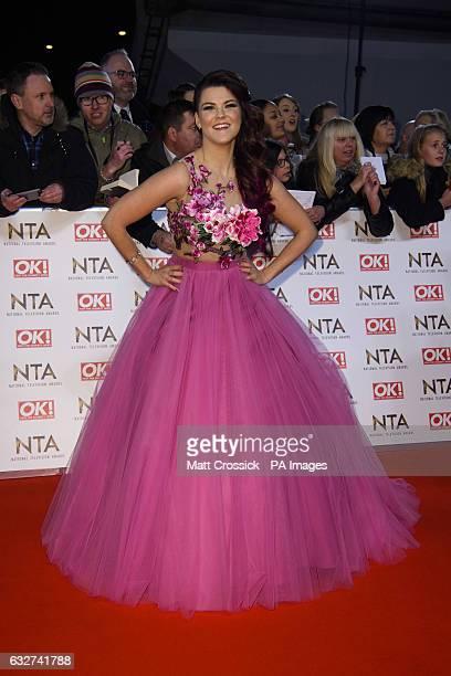 Saara Aalto attending the National Television Awards 2017 at the O2 London