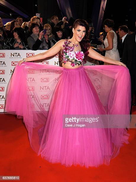 Saara Aalto attends the National Television Awards at Cineworld 02 Arena on January 25 2017 in London England