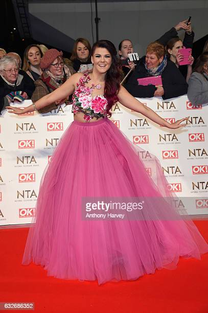 Saara Aalto attends the National Television Awards on January 25 2017 in London United Kingdom