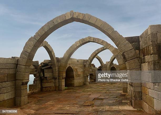 Saath Kaman arches at Pavagarh