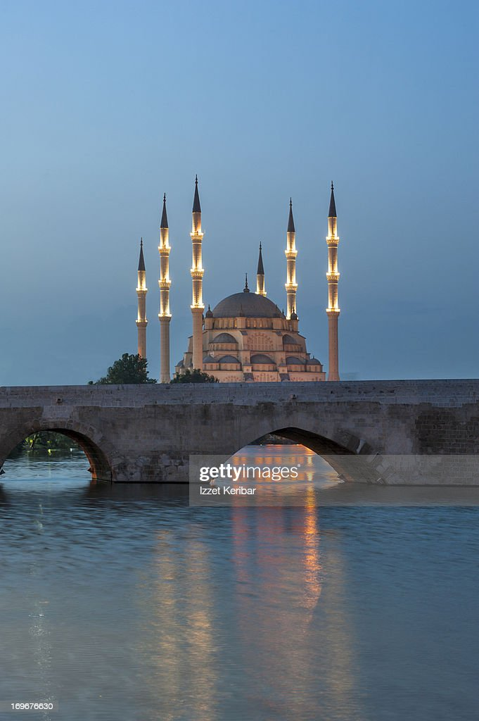 Sabanci Central Mosque and Stone Bridge