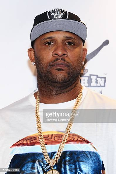 Sabathia attends 2016 Roc Nation Summer Classic Charity Basketball Tournament at Barclays Center of Brooklyn on July 21 2016 in the Brooklyn borough...