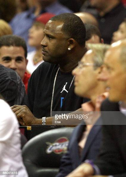Sabathia of the New York Yankees attends Game Five of the Eastern Conference Finals between the Cleveland Cavaliers and the Orlando Magic during the...