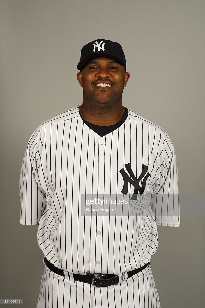 CC Sabathia of the New York Yankees poses during Photo Day on Thursday, February 19, 2009 at Steinbrenner Field in Tampa, Florida.
