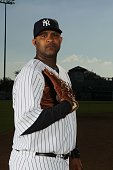 Sabathia of the New York Yankees poses for a photo during Spring Training Media Photo Day at George M Steinbrenner Field on February 25 2010 in Tampa...