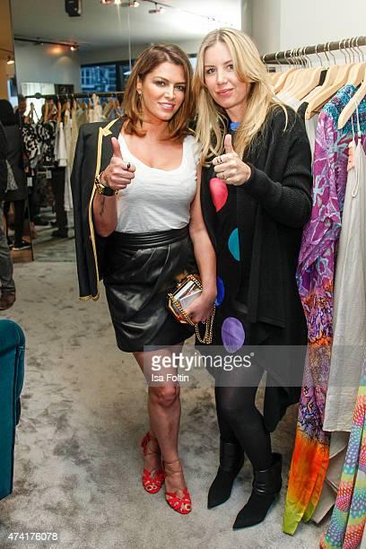 Sabia Boulahrouz and Irina Westermann attend the Petra Teufel GALA Fashion Night on May 20 2015 in Hamburg Germany