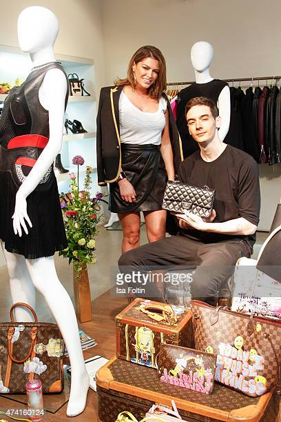 Sabia Boulahrouz and Tronje van Ellen attend the Petra Teufel GALA Fashion Night on May 20 2015 in Hamburg Germany