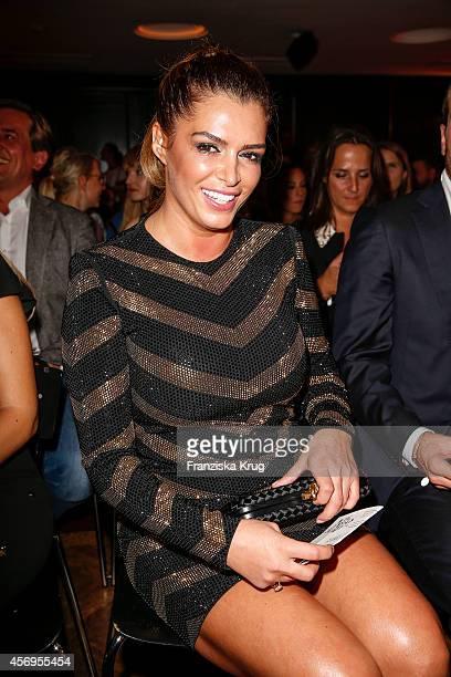Sabia Boulahrouz attends the Audi Fashion Award 2014 on October 09 2014 in Hamburg Germany