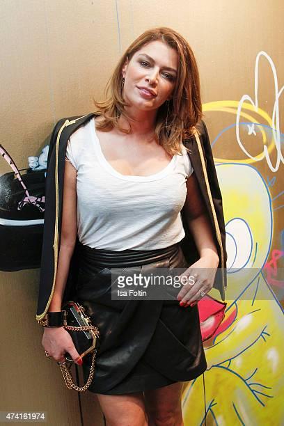 Sabia Boulahrouz attends the Petra Teufel GALA Fashion Night on May 20 2015 in Hamburg Germany