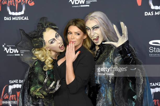 Sabia Boulahrouz attends the 'Tanz der Vampire' Musical Premiere at Stage Theater on September 17 2017 in Hamburg Germany