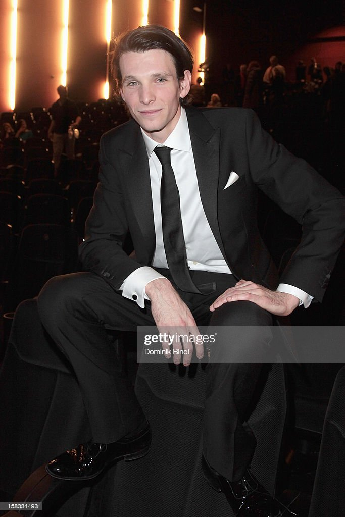 Sabin Tambrea attends Ludwig II - Germany Premiere at Mathaeser Filmpalast on December 13, 2012 in Munich, Germany.