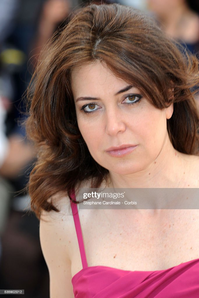 Sabina Guzzanti at the Photocall for 'Draquila - Italy Trembles' during the 63rd Cannes International Film Festival.