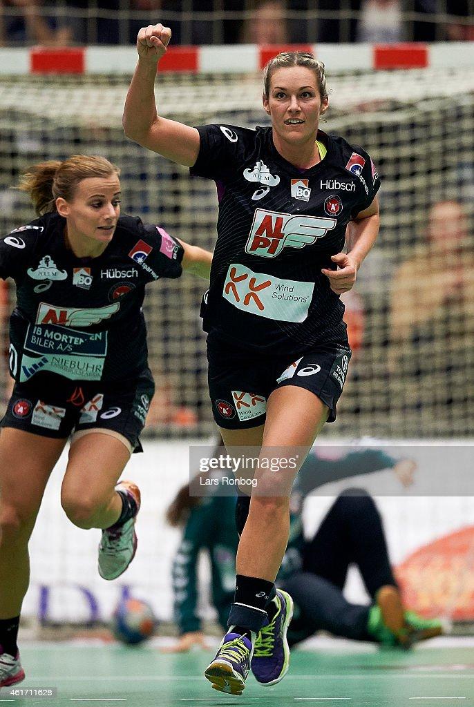 FCM Handbold vs Team Esbjerg - Boxer Dameligaen | Getty Images